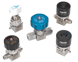 MD Series Ultra-High Purity Diaphragm Valves